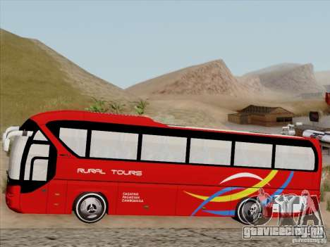 Neoplan Tourliner. Rural Tours 1502 для GTA San Andreas вид сбоку
