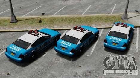 Annis Pinnacle ELS для GTA 4 вид сзади