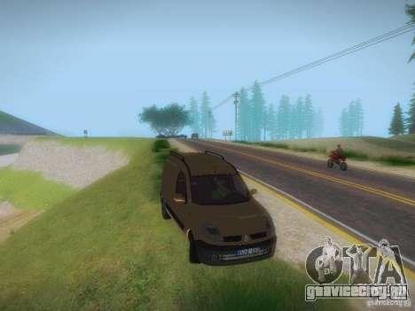 Renault Kangoo II Stock для GTA San Andreas вид справа