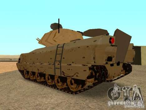 M2A3 Брэдли для GTA San Andreas вид справа