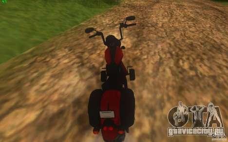 Motorcycle from Mercenaries 2 для GTA San Andreas вид слева