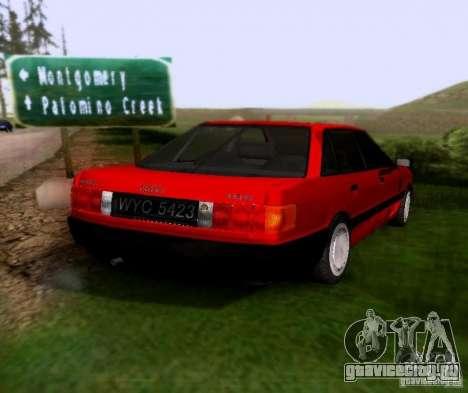 Audi 80 B3 для GTA San Andreas вид сзади слева