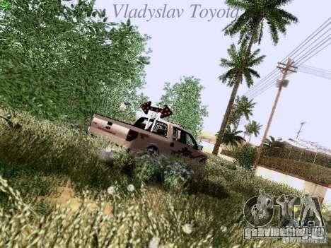 Ford F-150 Road Sheriff для GTA San Andreas вид снизу