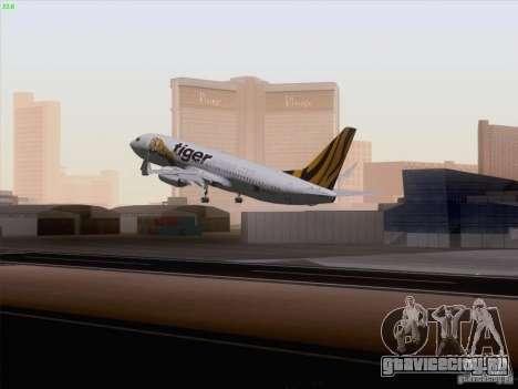 Boeing 737-800 Tiger Airways для GTA San Andreas вид слева