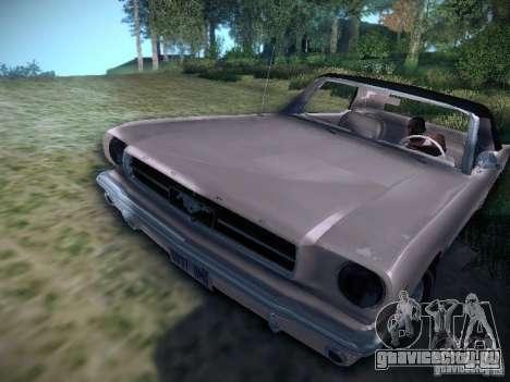 Ford Mustang Convertible 1964 для GTA San Andreas