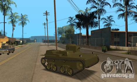 Т-38 для GTA San Andreas вид слева
