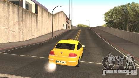 Fiat Linea такси для GTA San Andreas