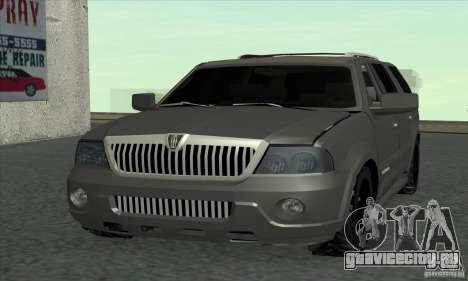 Lincoln Navigator для GTA San Andreas