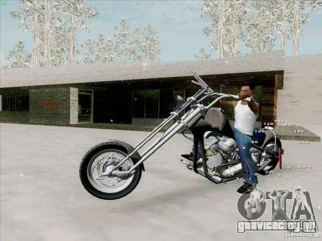 Harley для GTA San Andreas