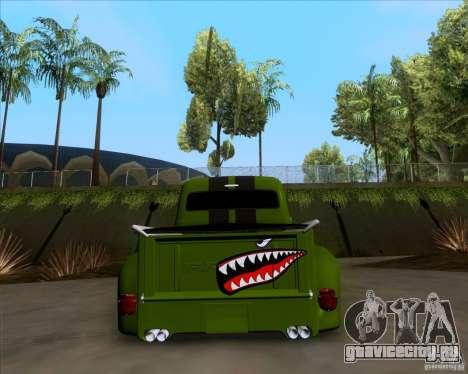 Ford FR-100 2003 для GTA San Andreas вид изнутри