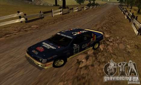 Ford Sierra RS500 Cosworth RallySport для GTA San Andreas вид слева