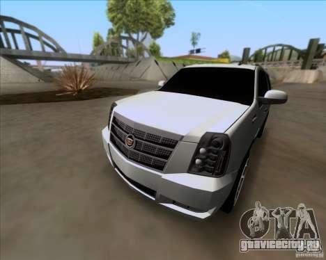 Cadillac Escalade ESV Platinum 2013 для GTA San Andreas вид сбоку