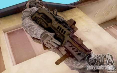Tavor Ctar-21 из warface для GTA San Andreas второй скриншот