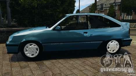 Chevrolet Kadett GSI для GTA 4 вид слева