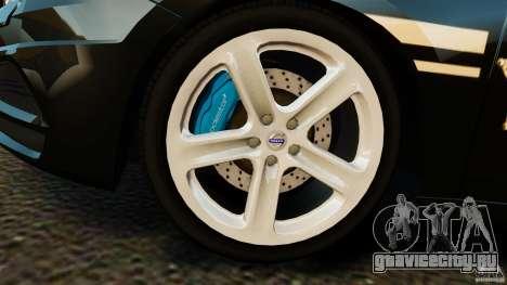 Volvo S60 Sheriff для GTA 4 вид изнутри