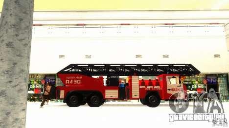 КамАЗ 53229 для GTA San Andreas вид сзади слева