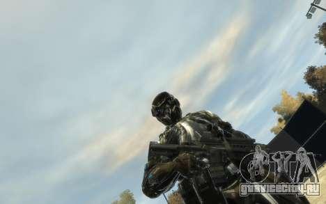 Crysis 3 The Hunter skin для GTA 4 второй скриншот