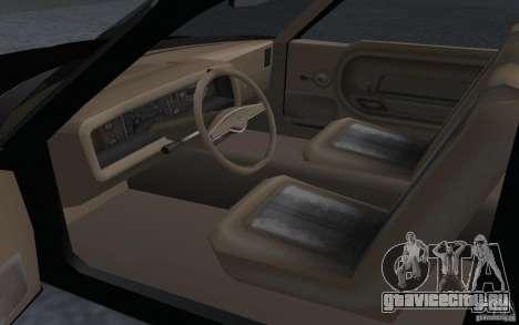 AMC Pacer для GTA San Andreas вид сзади слева