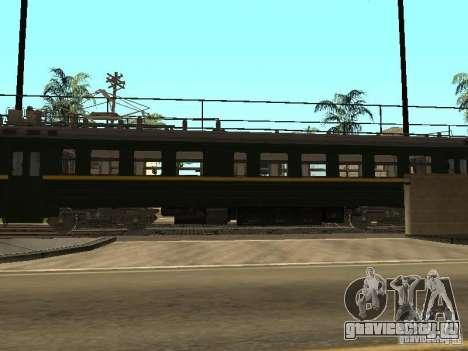 ЭР2Р-7750 для GTA San Andreas вид сзади слева