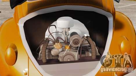 Volkswagen Fusca Edit для GTA 4 вид сзади