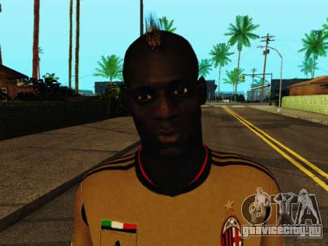 Марио Балотелли v3 для GTA San Andreas шестой скриншот