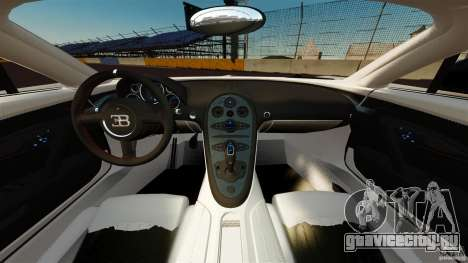 Bugatti Veyron 16.4 Super Sport 2011 [EPM] для GTA 4 вид сзади