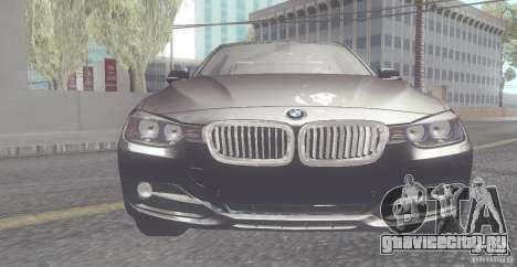BMW 335i Coupe 2013 для GTA San Andreas вид слева