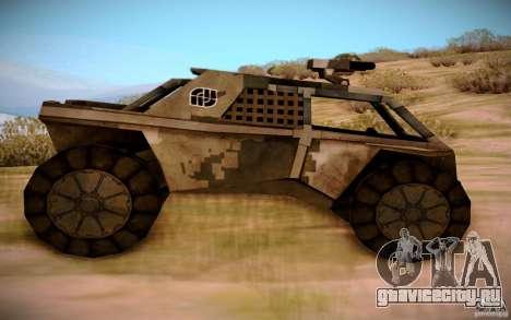 MK-15 Bandit для GTA San Andreas вид слева