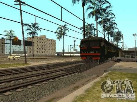ЭР2Р-7750 для GTA San Andreas вид сзади