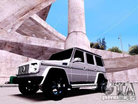 Mercedes-Benz G65 2012 для GTA San Andreas вид изнутри
