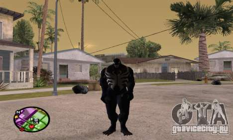 Spider Man and Venom для GTA San Andreas третий скриншот