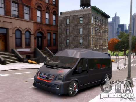 Ford Transit Sport Edition RV 2013 для GTA 4 вид изнутри