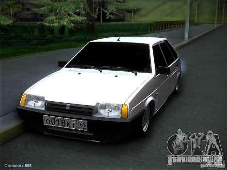 ВАЗ 2109 Ростов для GTA San Andreas