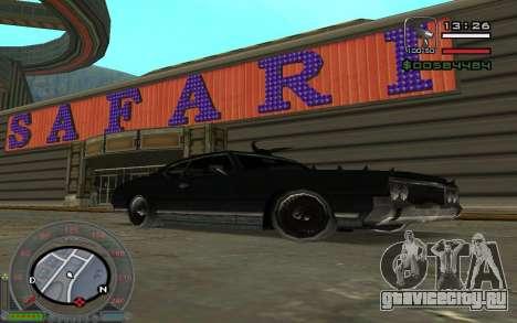 New Sabre для GTA San Andreas