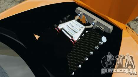 Chevrolet Corvette ZR1 для GTA 4 двигатель