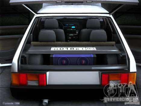 ВАЗ 2109 Ростов для GTA San Andreas колёса
