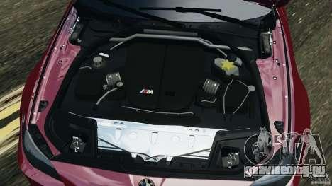 BMW M5 2012 для GTA 4 вид сверху