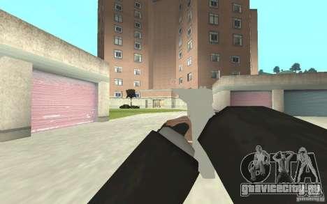 Новая анимация стрельбы  из GTA IV для GTA San Andreas пятый скриншот