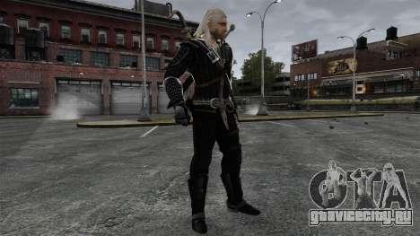 Геральт из Ривии v8 для GTA 4 пятый скриншот