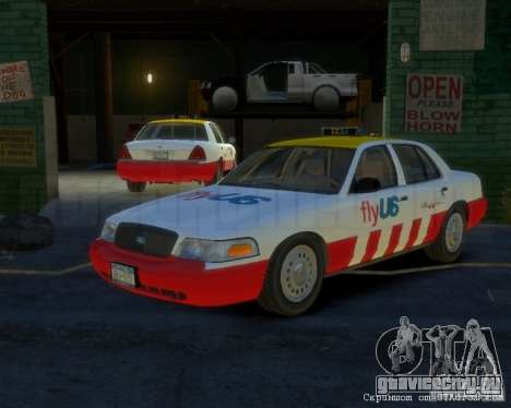 Ford Crown Victoria for FlyUS Car для GTA 4