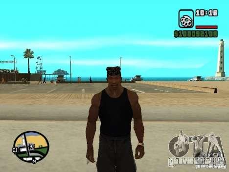 Майка Rammstein для GTA San Andreas четвёртый скриншот