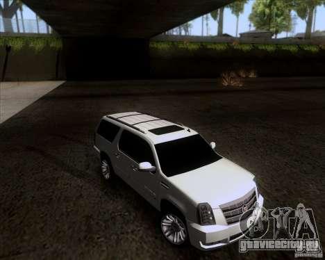 Cadillac Escalade ESV Platinum 2013 для GTA San Andreas