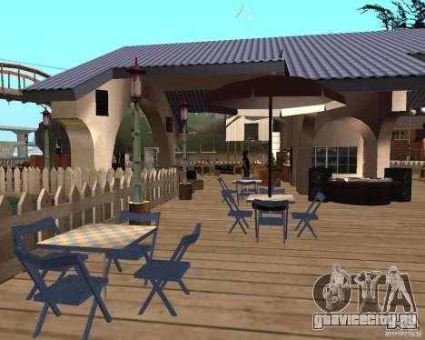 Вилла в Рыбацкой лагуне для GTA San Andreas пятый скриншот