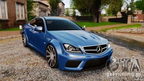 Mercedes-Benz C 63 AMG для GTA 4
