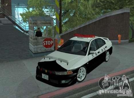 Mitsubishi Galant Police для GTA San Andreas
