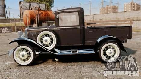 Ford Model T Truck 1927 для GTA 4 вид слева