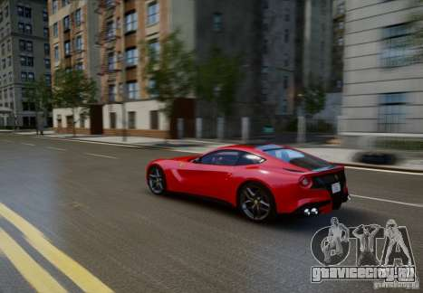 Ferrari F12 Berlinetta 2013 для GTA 4 вид сбоку