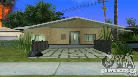Новые текстуры дома Денис в Лос Сантосе для GTA San Andreas второй скриншот