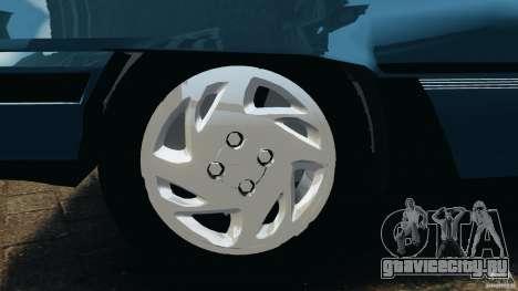 Chevrolet Kadett GSI для GTA 4 вид снизу
