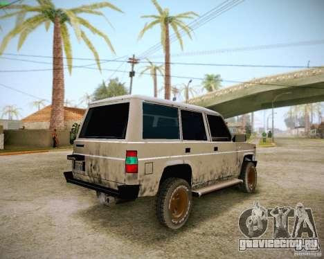 Daihatsu Taft Hiline Long для GTA San Andreas вид сбоку